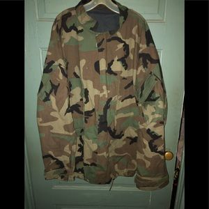 Camouflage military chemical protect field  jacket